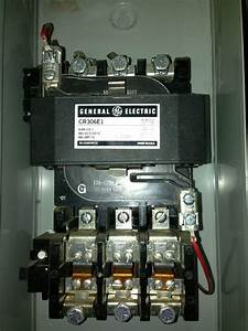 Ge 300 Line Control Cr306 Size 3 Magnetic Starter 90 Amp