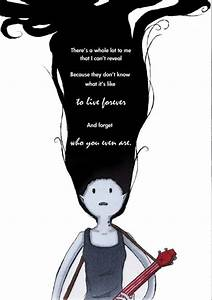 adventure time ... Finn And Marceline Quotes