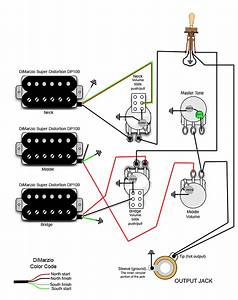 Les Paul 3 Humbucker Wiring Diagram