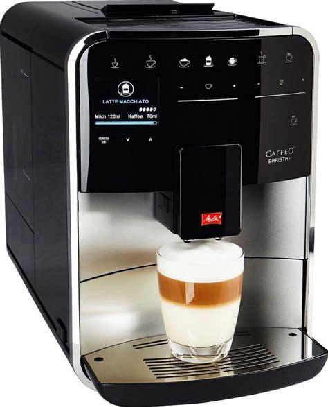 melitta kaffeevollautomat melitta kaffeevollautomat 187 caffeo barista t f 731 101 171 kaufen otto