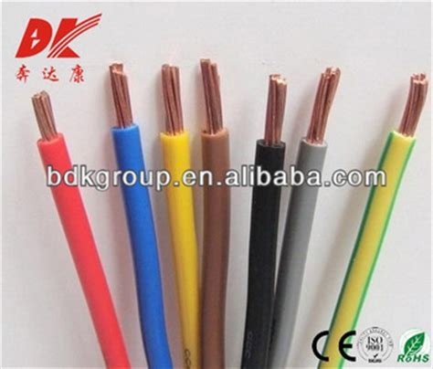 china manufacturer outlets house using electric wire color