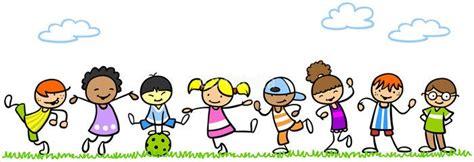 spielende kinder comic kinder kinder und kinder zeichnen
