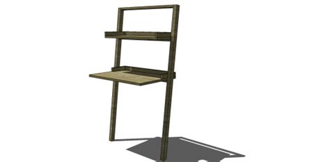 little sloane leaning desk free diy furniture plans to build a land of nod inspired