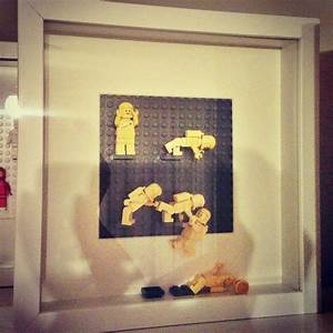 1000 images about lego minifigure displays on pinterest With lego wall art