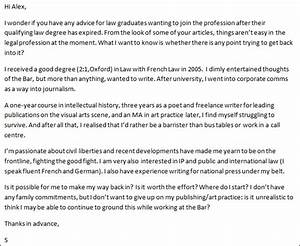 advice im struggling to survive in the arts and yearn With mini pupillage covering letter