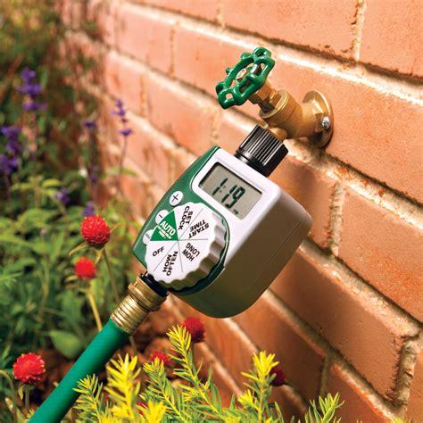amazon com orbit single outlet programmable hose faucet