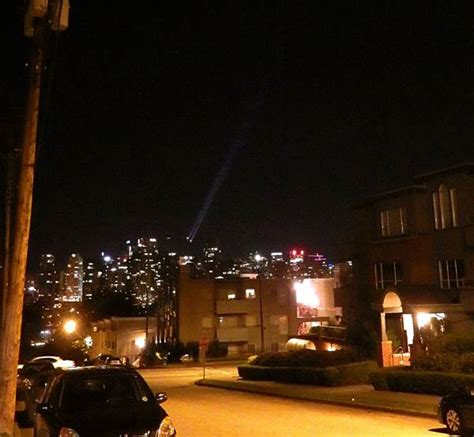 homeless in vancouver mystery lights spotted on grouse