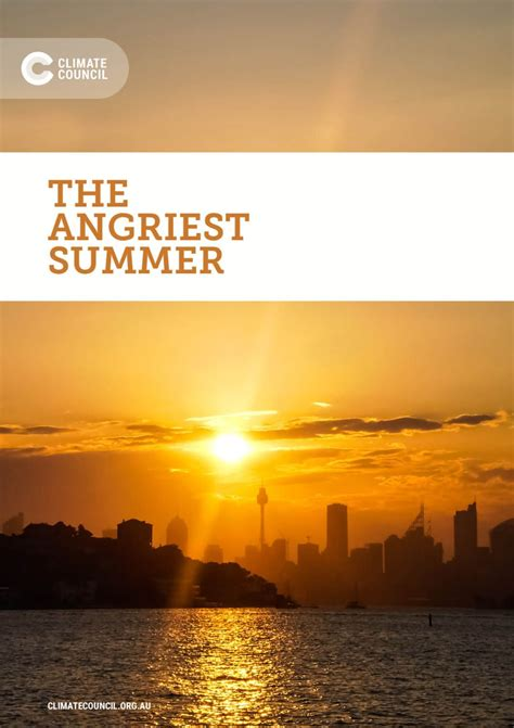 New Report: The Angriest Summer - Climate Council ...