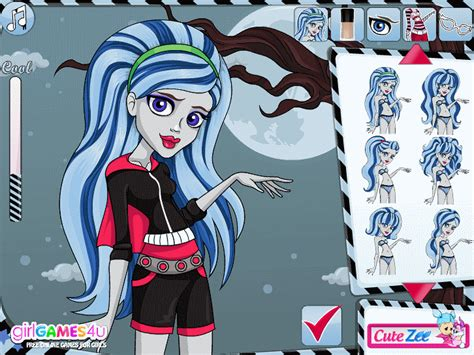 Jocuri Monster High Draculaura Hairstyle