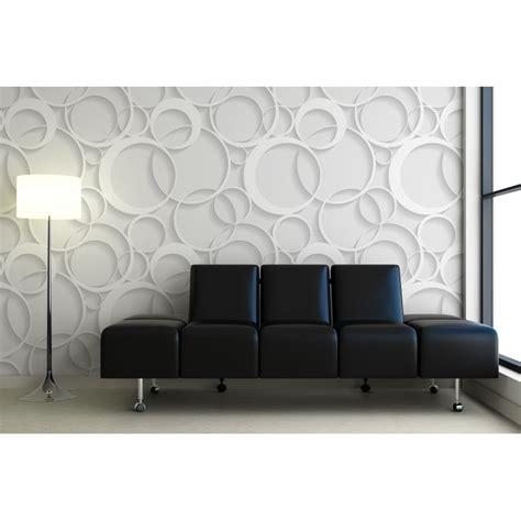 decoration murale effet  papier peint contemporain