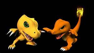 Pokemon vs Digimon on Wacom Gallery