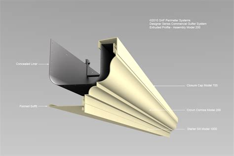 commercial gutter systems downspouts saf southern aluminum finishing co inc