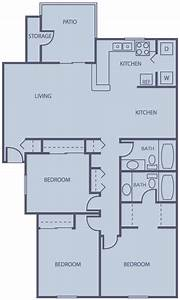 Average square footage of a 2 bedroom apartment 760 square for Average square footage of 2 bedroom apartment