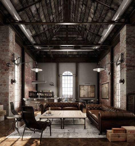 log home interior decorating ideas decoración industrial los mejores lofts nomadbubbles
