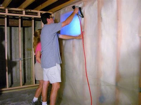 how to run electrical wire and install insulation use