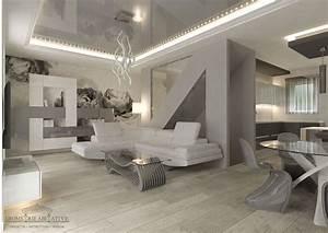 Casa con Arredamento Moderno Geometrie Abitative