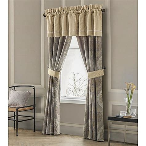 Waterford Drapes - waterford 174 linens marcello window curtain panel pair and