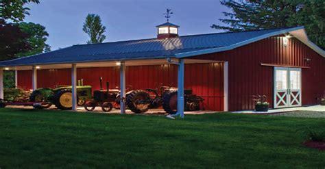 Pole Barn House Construction Company In Clarkston, Mi