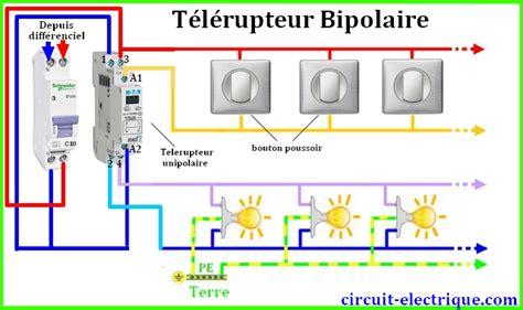 schema electrique telerupteur legrand