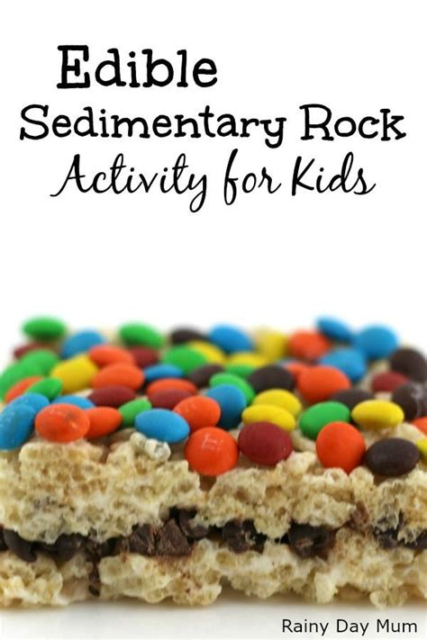 edible sedimentary rocks  kids   recipe rock
