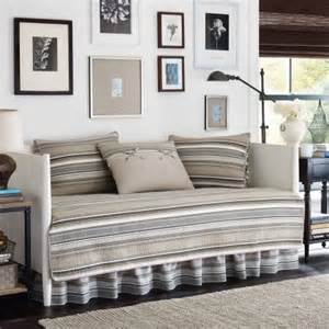 stone cottage fresno 5 piece daybed bedding set taupe