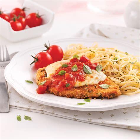 cuisiner escalope de poulet escalopes de poulet parmigiana recettes cuisine et