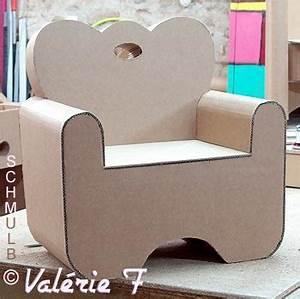 Petit Fauteuil Pour Enfant : le meuble enfant fabriqu en carton ~ Teatrodelosmanantiales.com Idées de Décoration
