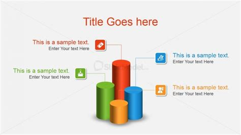 Professional Layout Generator by 3d Cylinder Column Chart Concept For Powerpoint Slidemodel