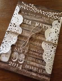 rustic wedding shower ideas invitaciones de boda rústicas al alcance de tu bolsillo