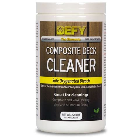 defy composite deck cleaner defy wood stain