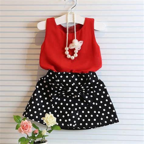 Toddler Kids Baby Girls Summer Outfits Clothes T-shirt Tops+Skirt Dress 2PCS Set | eBay