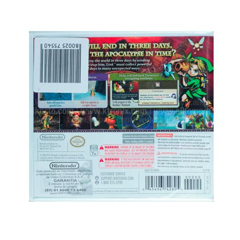 Remake del mítico the legend of zelda: Videojuego NINTENDO 3DS The Legend of Zelda Majora's Mask ...