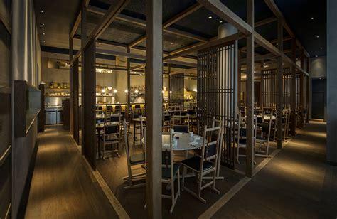10 seat dining neri hu design a japanese izakaya for jason atherton 39 s