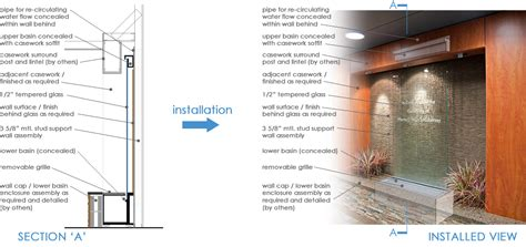 how to build water wall build indoor water features how to do it yourself origin falls