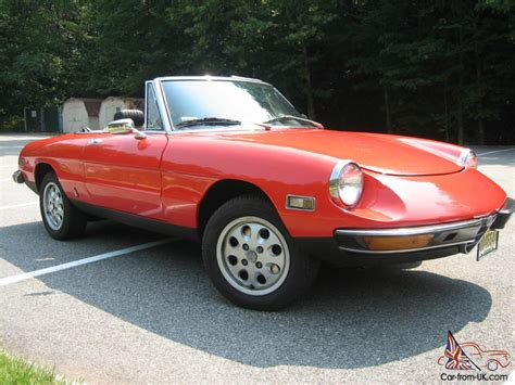 1972 Alfa Romeo Spider 2 Liter Fuel Injection- Must Sell