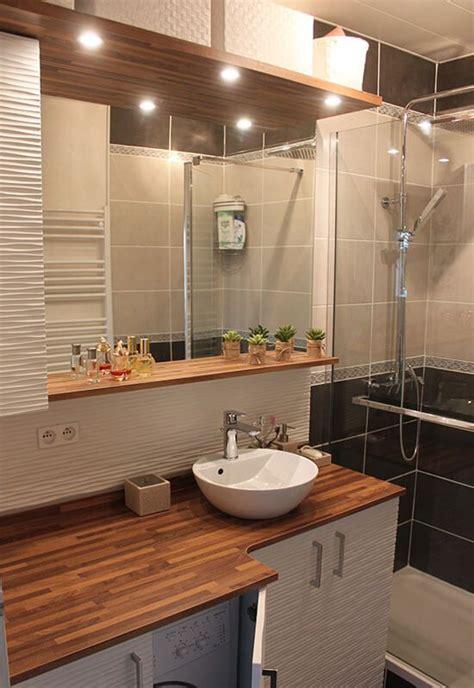 une salle de bains avec un meuble int 233 grant le lave linge atlantic bain