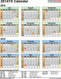16 blank calendar template 2014 2015 images august 2015 With 2014 15 academic calendar template