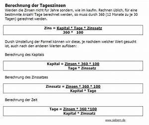 Zinsen Pro Monat Berechnen : mathetest zinsrechnung ~ Watch28wear.com Haus und Dekorationen