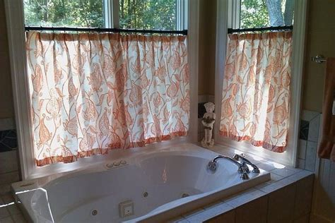 bathroom window treatments ideas  pinterest