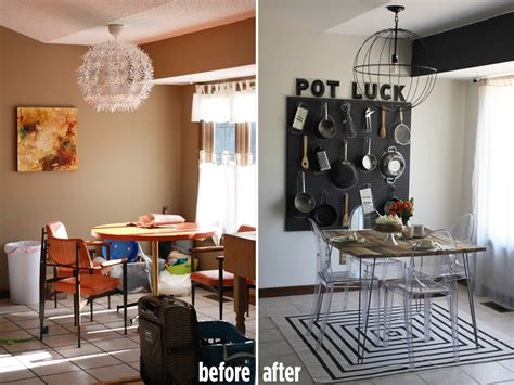Emma's Dining Room (before & After)