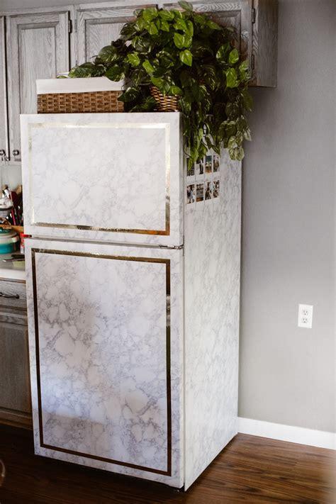 stunning fridge makeover ideas    break  bank