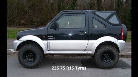 suzuki jimny lifted suzuki jimny lift youtube