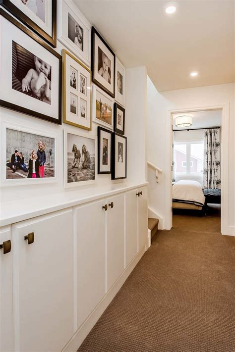 Narrow Living Room Storage by 75 Clever Hallway Storage Ideas Digsdigs