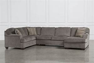 Loric smoke 3 piece sectional w raf chaise living room for Sectional sofa names