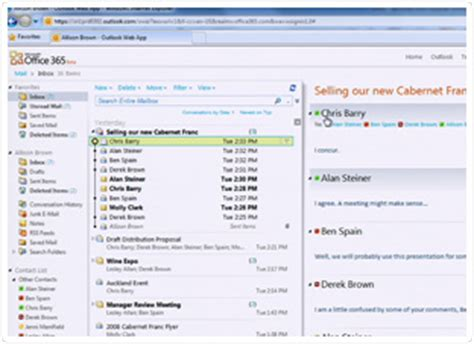 Office 365 Mail by Microsoft Office 365 Email Calendar Insight