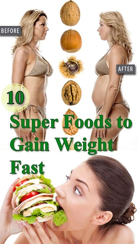 Saute olive oil, garlic, onions, and desired vegetables in a pan for a few minutes. 10 Super Foods to Gain Weight Fast. I'm pinning this so I ...