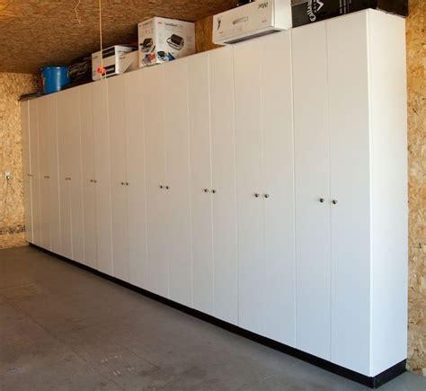 Garage Storage Cupboards by Best 25 Garage Storage Cabinets Ideas On