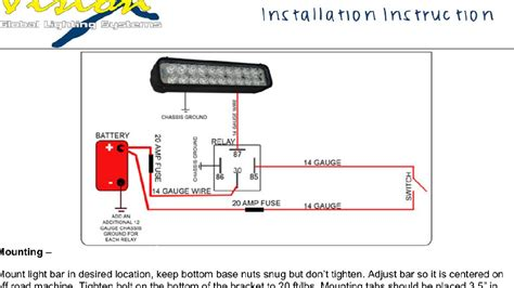 Simple Light Bar Wiring Diagram by Led Light Bar Install Tacoma World