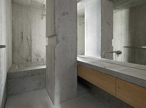 ode    concrete house  basel detail