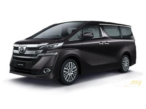 Toyota Vellfire 2017 2.5 In Selangor Automatic Mpv Black
